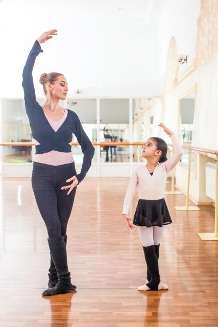 バレエで手に入る美しい姿勢