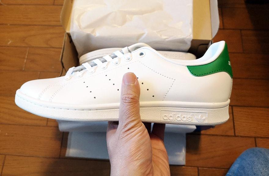 相性度2位「adidas STAN SMITH」