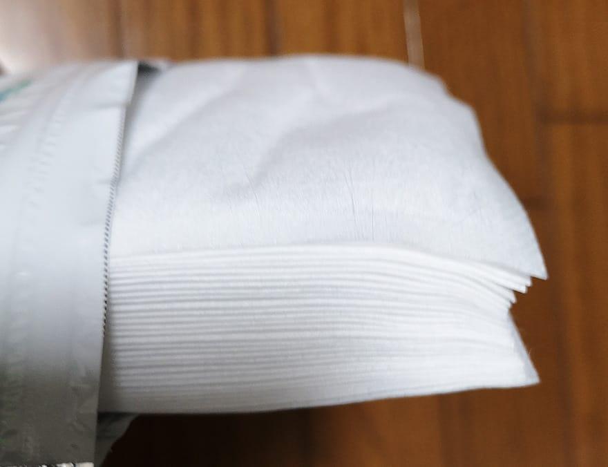 ヤマシン・オリジナルの不織布のシートが30枚