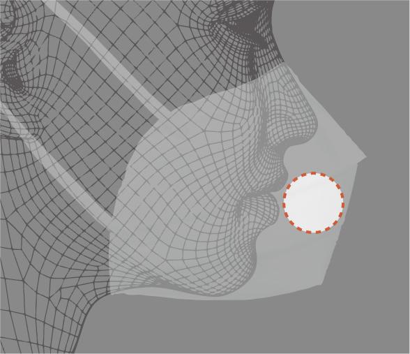 ヤマシンフィルタマスクの独自立体プリーツ形状