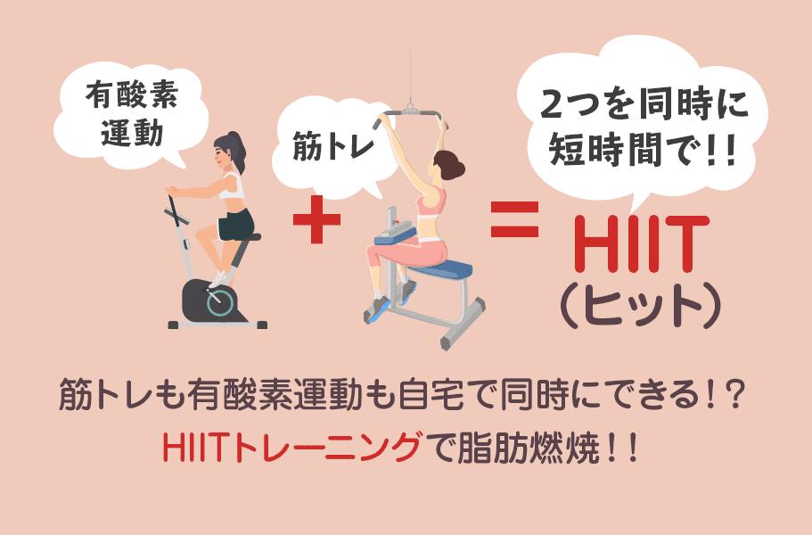 【ダイエットにも最適】筋トレも有酸素運動も自宅で同時にできる!?HIITトレーニングで脂肪燃焼!!